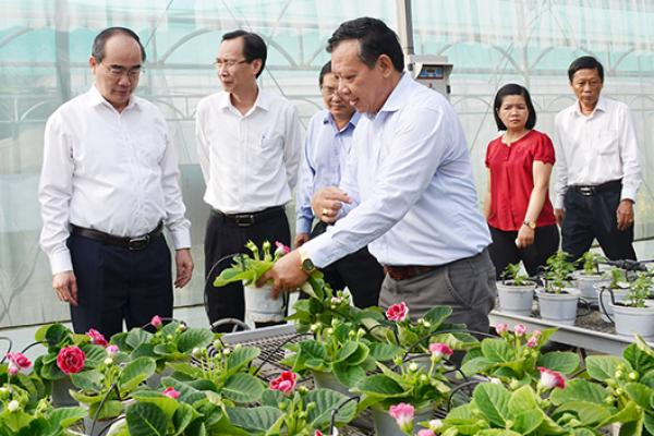 Thành phố Hồ Chí Minh phấn đấu để trở thành trung tâm giống cây trồng, vật nuôi phục vụ sản xuất nông nghiệp cho các tỉnh Đông và Tây Nam bộ